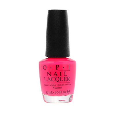 OPI Nail Lacquer Tru Neon Collection Precisely Pinkish BC1