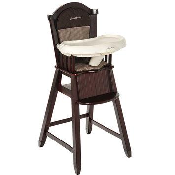 Eddie Bauer Classic Wood High Chair - Michelle