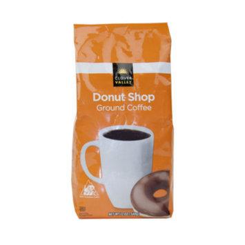 Clover Valley Donut Shop Blend Ground Coffee - 12 oz.
