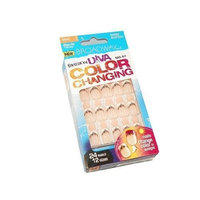 Broadway Nails, Fashion Diva Nail Kit, Color Changing, Short Length 54362