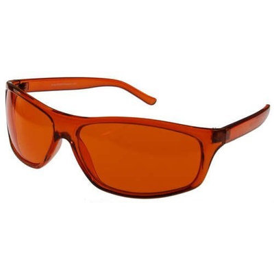 Biowaves Orange Color Therapy Glasses, Pro Style Available in Other Colors