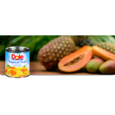 Dole Tropical Fruit In Light Syrup & Passion Fruit Juice