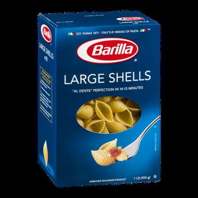 Barilla Pasta Large Shells