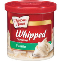 Duncan Hines Whipped Frosting, Vanilla, 12-Ounce (Pack of 8)