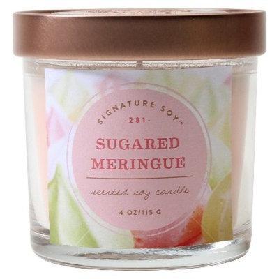 Signature Soy 4oz Small Jar Sugared Meringue