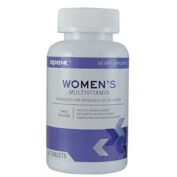 Apex Fitness Apex Women's Multivitamin, High-potency Antioxidants with Essential Nutrients, 60 Tablet Bottle