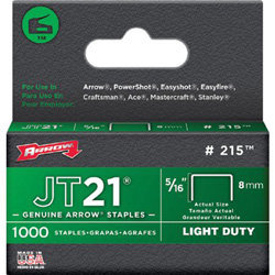 ARROW FASTENER CO. 5/16 Hammer Tacker JT21? Staples