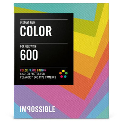 Impossible PRD 2959 COLOR FILM POLAROID 600-TYPE CAMERAS