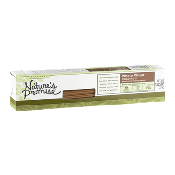 Nature's Promise Naturals Whole Wheat Spaghetti Product Linguine