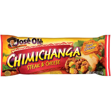 Jose Ole Steak & Cheese Chimichanga, 5 oz