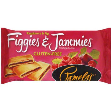Pamela's Figgies & Jammies Raspberry & Fig Extra Large Cookies, 9 oz, (Pack of 6)