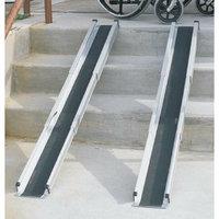 Mabis Briggs Healthcare 5' Telescoping Adjustable Wheelchair Ramps