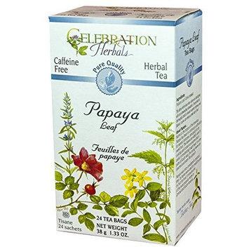 Celebration Herbals Teas Celebration Herbals Papaya Leaf Tea Caffeine Free -- 24 Tea Bags