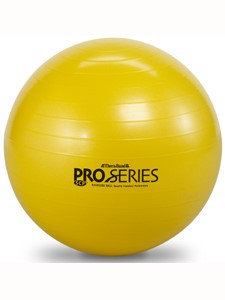 Theraband Pro Series Exercise Ball, Yellow, 45cm
