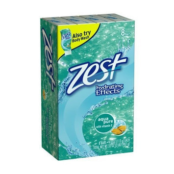 Zest Aqua Bar Soap, 8-count Packages (Pack of 3)
