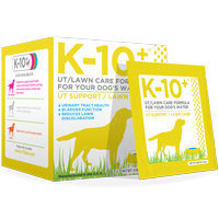 K-10 Plus Urinary Tract Support & Lawn Care Dog Supplement, 0.98 oz.