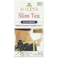 Hyleys Tea Slim Tea, Acai Berry, 1.32 Ounce