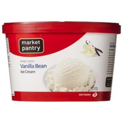 market pantry MP ICE CREAM 48-OZ NATURAL VANILLA