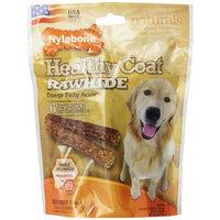 Nylabone USA Rawhide Healthy Coat Fatty Acid, 6 Count Pouch, 4-Inch
