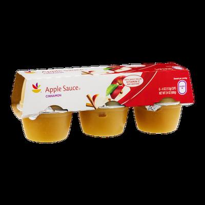Ahold Apple Sauce Cinnamon - 6 CT