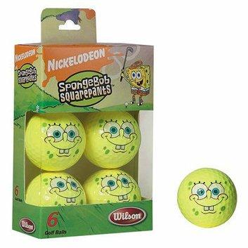 Wilson SpongeBob Golf Balls - 6 pk.