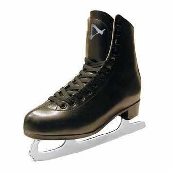 American Athletic Boys American Tricot Lined Figure Skate - Black (10)
