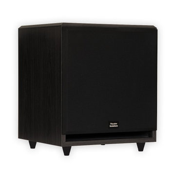 Theater Solutions SUB12F Subwoofer System - 350 W RMS - Black - 25 Hz - 150 Hz - Surround Sound