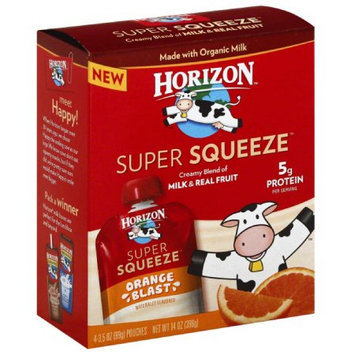 Horizon Organic Super Squeeze Orange Blast Fruit Blend