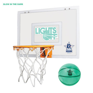 W.o.k.trading, A Limited Liability Compa Ny Rough House Lights Off Glow-in-the-Dark Mini Basketball Hoop