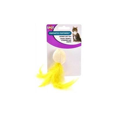 Ethical Plush Fantastic Feathers Ball Catnip Cat Toy