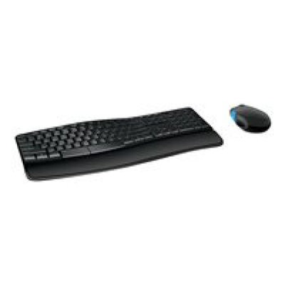 Microsoft Corp. Microsoft Sculpt Comfort Desktop - Keyboard and mouse set - 2.4 GHz - Canadian English
