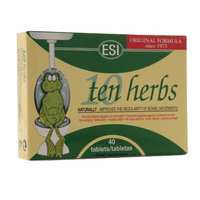 ESI Ten Herbs Natural Dietary Laxative Tablets