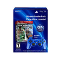 UNCHARTED 1 & 2 Greatest Hits Dual Pack & DUALSHOCK 3 Wireless Controller
