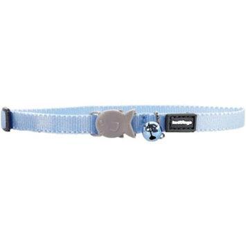 Red Dingo CC-ZZ-LB-XS Kitten Collar Classic Light Blue