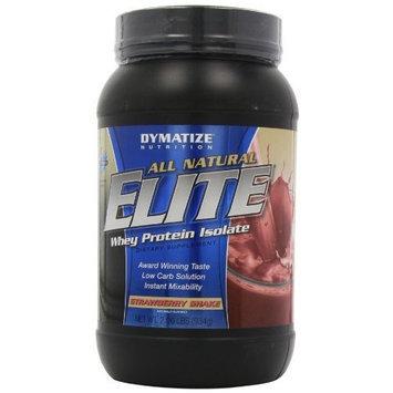 Dymatize Nutrition Elite Natural Protein, Strawberry Shake, 5 Pound