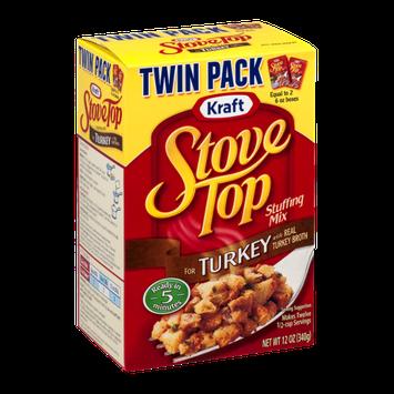 Kraft Stove Top Stuffing Mix Turkey Twin Pack - 2 CT