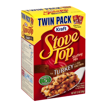Kraft Stove Top Stuffing Mix Turkey Twin Pack - 2 CT