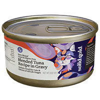 Solid Gold Blended Tuna Gourmet Canned Food for Cats