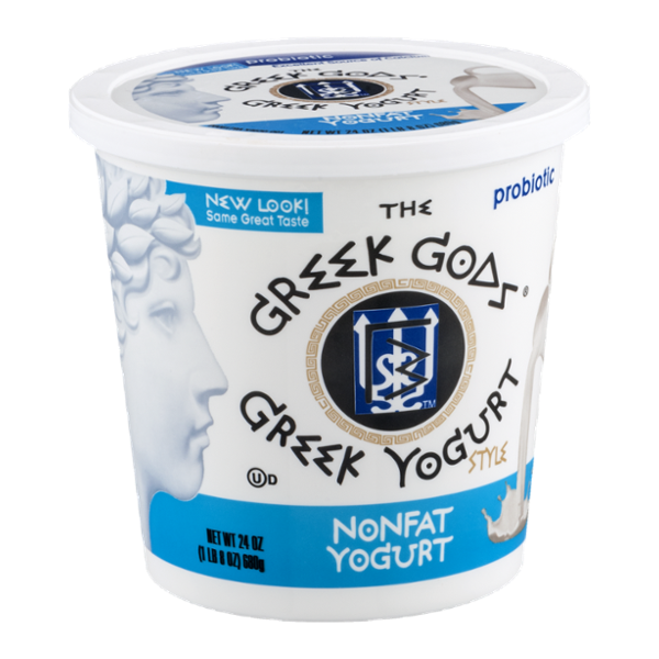 The Greek Gods Greek Yogurt Style Nonfat Yogurt