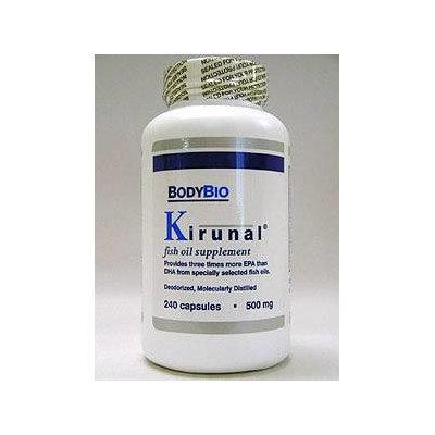 Kirunal 500 mg 240 caps by BodyBio/E-Lyte