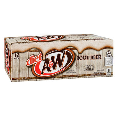 A&W Diet Root Beer - 12 CT