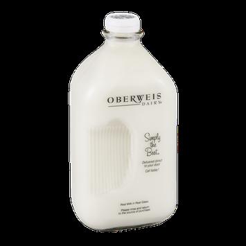 Oberweis Dairy Fat Free Milk