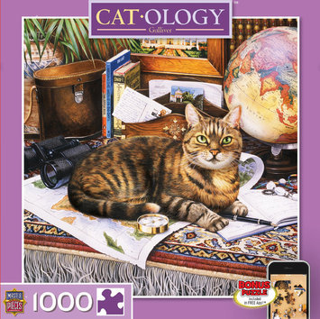 Masterpieces MASTERPIECES 1,000 Piece Catology Series Gulliver Puzzle - MASTERPIECES PUZZLE COMPANY