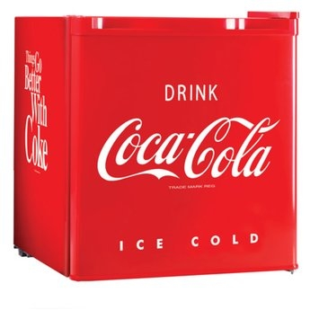Nostalgia Electrics CRF170COKE Coca-Cola Series 1.7-Cubic Foot Mini Fridge
