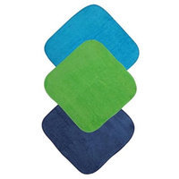 Mum 2 Mum m2fw-14150 Face Washers, Lime, Teal, Navy