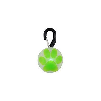 Nite Ize PetLit LED Collar Light with Paw Print Design