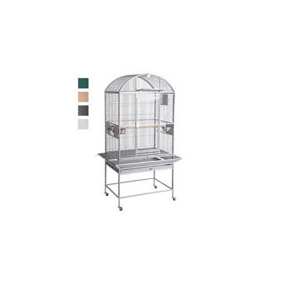 HQ Dome Top Black Bird Cage, 24 L X 22 W X 60 H