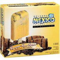 Helados Mexico: Rompope-Rum Raisin Premium Ice Cream Bars, 18 fl oz
