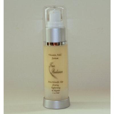 VITAMIN A & C SERUM (Retinol 1%) Anti-aging, Anti-wrinkle, Skin Exfoliating and Rejuvination. Also has sodium ascorbyl phosphate, witch hazel, retinol cream, hyaluronic acid, vitamin E, Green tea, DMAE, Lactic Acid plus much more by True Radiance PARABEN FREE. New Sealed 1oz/30ml bottle.