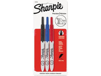 Sharpie Permanent Marker Set (Ultra Fine, Black, Blue, Red) [PK/3]. Model: 1735794